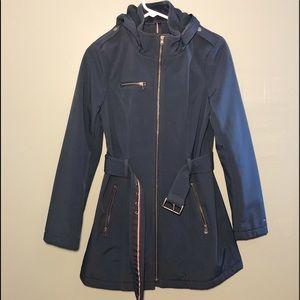 Tommy Hilfiger Soft Shell Belted Rain Coat